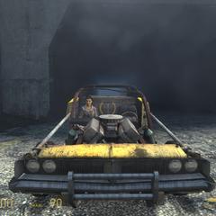 Alyx en el Muscle Car