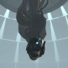 Wheatley toma el control del cuerpo de GLaDOS y de la instalación