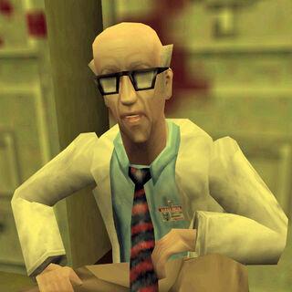 Harold hablando a Calhoun acerca del plan de escape