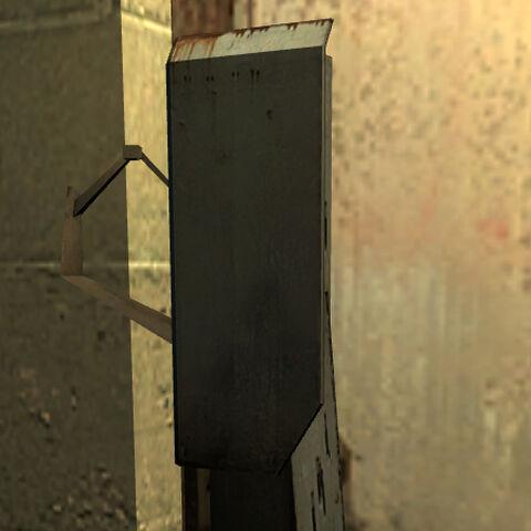 Cerradura Combine en el exterior de una puerta