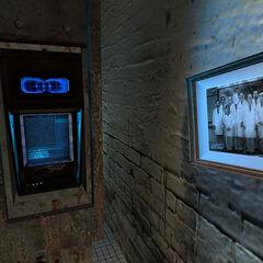 Escáner de Retina en el laboratorio de Kleiner en Half-Life 2