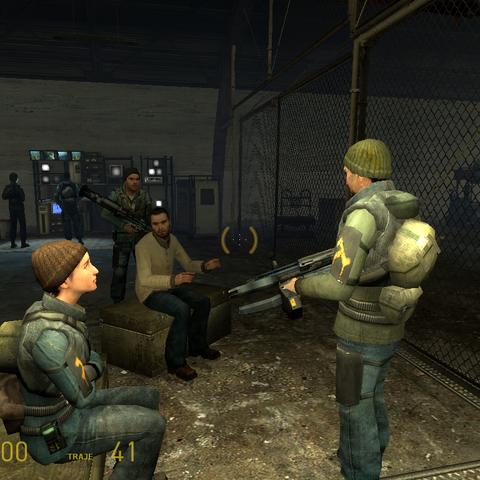 Rebelde Hablando sobre el AR3