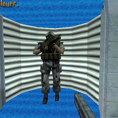 Soldado HECU en Half-Life Alpha