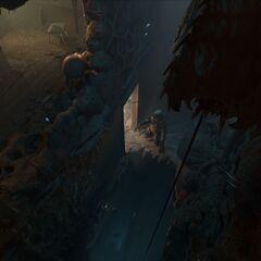 Un Barnacle en Half-Life: Alyx