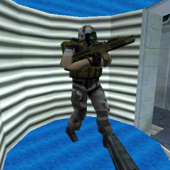 Un soldado del HECU