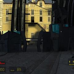 barricada de Metrocops