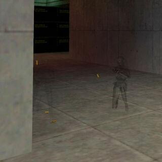 Dos Asesinas Black Ops disparando a Freeman con su camuflaje activado