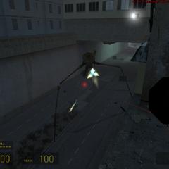 Zancudo atacando a freeman en un edificio
