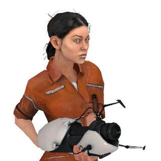 Modelo de Chell de Portal