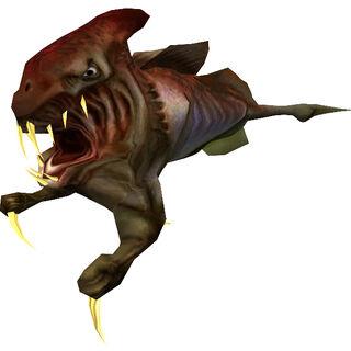Modelo del Ictiosaurio de Half-Life