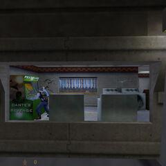 Científico y Guardia de Seguridad jugando Prax Wars 2: Dante's Revenge en la lavandería