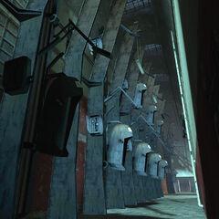 Cápsulas de Prisioneros en el Bloque D7 en Nova Prospekt