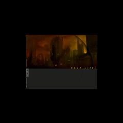 Fondo inicial del menú de Half-Life 2, data de 1998, cuando Half-Life 2 todavía estaba en GoldSrc. Nótese que detrás en el horizonte, se ve un rascacielos americano.