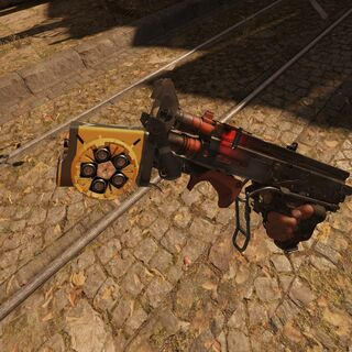 Escopeta con lanzagranadas