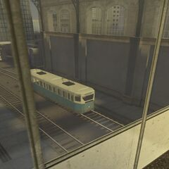 Tren Visto en la Estación de Trenes Beta
