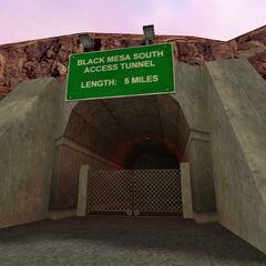 Túnel de Acceso Sur de Black Mesa