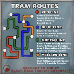 Rutas del Sistema de Transito de Black Mesa