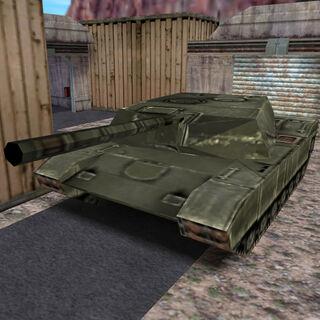 El Tanque en Tensión en la Superficie