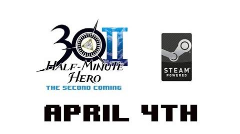 Half Minute Hero The Second Coming on Steam April 4th-0