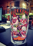 Killer Klowns Glass 1