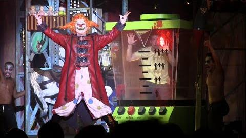 Full Carnage Returns show featuring Jack and Chance at Universal's Halloween Horror Nights 25
