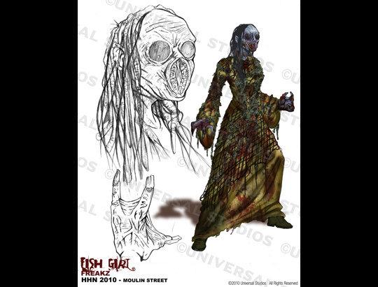 Halloween Horror Nights 2020 Hollywood Wiki Fish Girl | Halloween Horror Nights Wiki | Fandom
