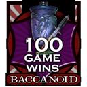 Baccanoid-100-wins