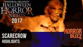 Scarecrow haunted house from Halloween Horror Nights at Universal Orlando
