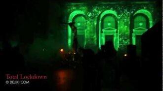 Total Lockdown scare zone - Halloween Horror Nights 2