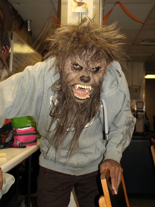 Darryl Maximilian Robinson as The Wolfman in The Wolfman 2