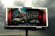 HHN 26 AHS Billboard