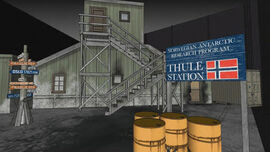 The Thing Entrance
