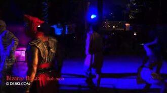Bizarre Bazaar flash mob - Halloween Horror Nights 2