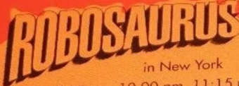 Robosaurus Logo