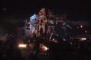 Festival of the Dead Skeleton Float 2