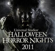 Universal Studios Hollywood 2011 Halloween Horror Nights 2011 Logo