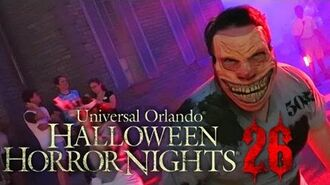 Taking The First CHANCE Of The Season At HHN26 Halloween Horror Nights 26
