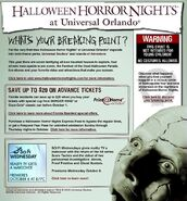 HHN XIV Website Page