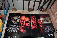 HHN Hallowd Past Posters 2
