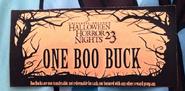 One Boo Buck HHN 23