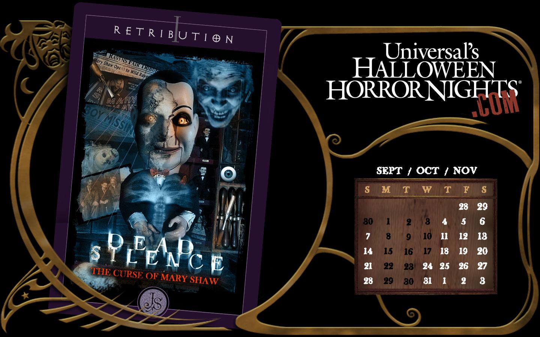 Dead Silence: The Curse of Mary Shaw | Halloween Horror Nights ...