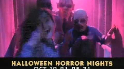 Halloween Horror Nights V Commercial
