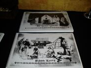 HHN 15 demon Cantina and Blood Ruins Paper