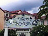 HHN 2001 Dead Bones