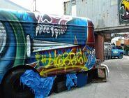 HHN XIV Fright Yard Graffiti 13