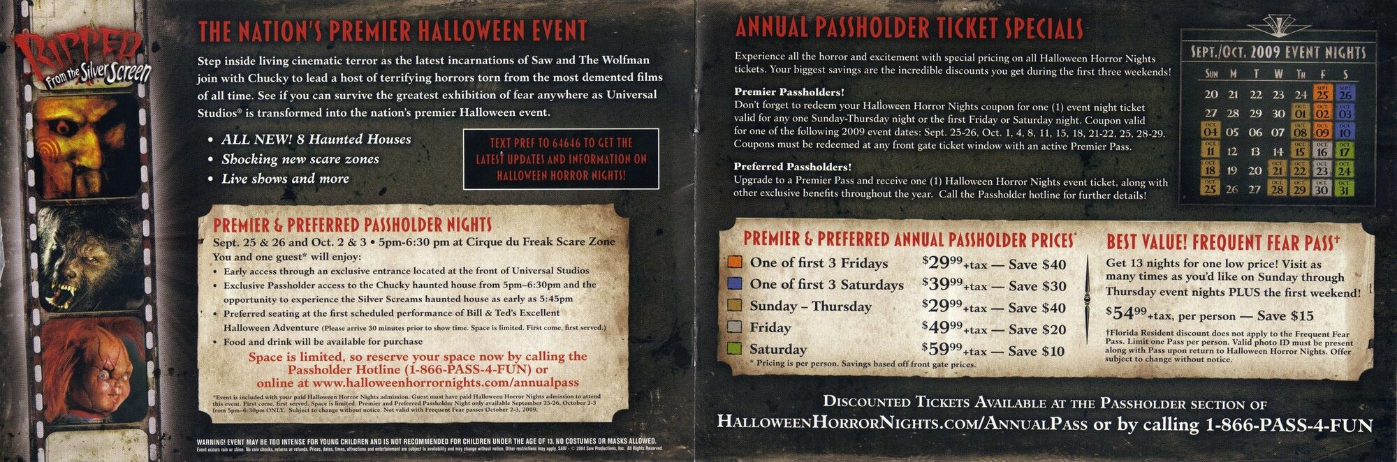 image - halloween horror nights rftss annual passholders
