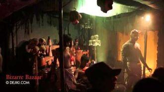 Bizarre Bazaar scare zone - Halloween Horror Nights 2