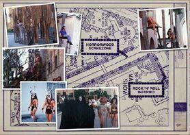 HHN 1994 Hollywood Boulevard Map