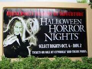 HHN 2002 Entrance Sign