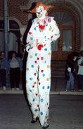 Festival of the Dead Parade Jack Stiltwalker